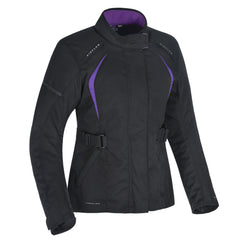 Oxford Dakota 2.0 Ladies Textile Jacket - Black / Purple