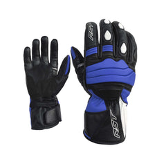 RST 2105 Jet City CE Approved Leather Gloves - Blue
