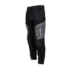 Spada Air Pro 2 Summer Vented Motorcycle Textile Trousers-Black/Silver/Fluo - Spada -  - MSG BIKE GEAR - 1