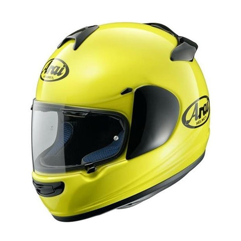 Arai Chaser-X Full Face Helmet - Solid Yellow