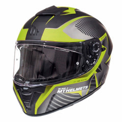MT Blade 2 SV Blaster Helmet - Matt Black / Flu Yellow