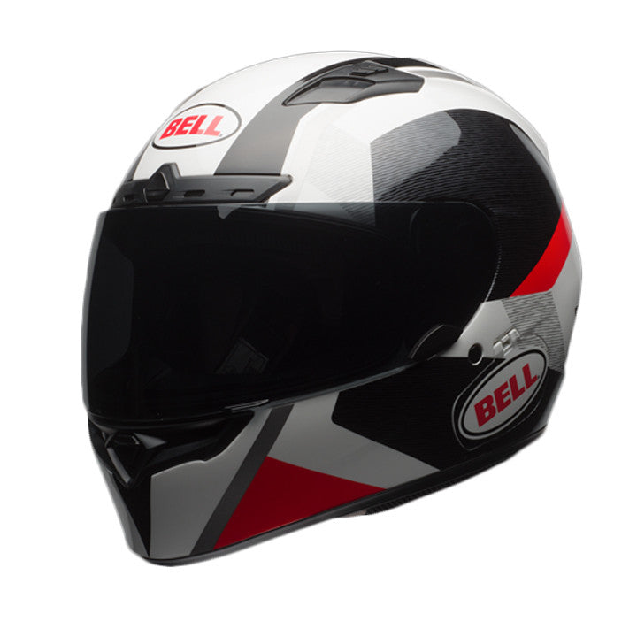 Bell Qualifier DLX MIPS Full Face Motorcycle Helmet - Accelerator Red/Black - Bell -  - MSG BIKE GEAR - 1