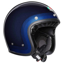 AGV Legends X70 Retro Open Face Helmet - Trofeo Blue