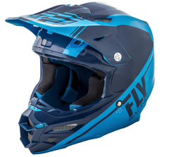 Fly Racing 2018 F2 Carbon Rewire MX Helmet - Navy / Blue