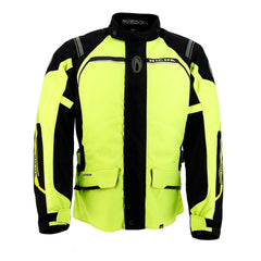 Richa Storm D30 Waterproof Textile Jacket - Full Fluo