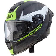 Caberg Drift Evo Carbon DVS Helmet - Matt Anth / Yellow