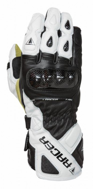Racer Multi Top 2 Waterproof Sports Touring Motorcycle Gloves - White - Racer -  - MSG BIKE GEAR - 1