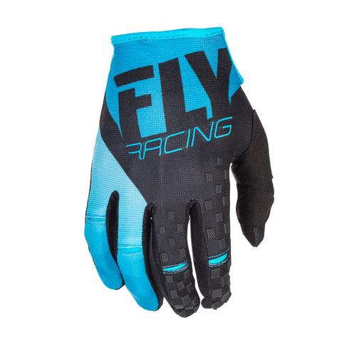 Fly Racing 2018 Kinetic MX Gloves - Blue / Black