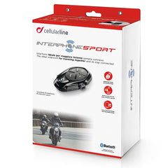Interphone Sport Motorcycle Bluetooth Intercomm Comms - Single Headset - Interphone -  - MSG BIKE GEAR - 1