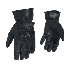 RST 2143 Roadster II Vintage Leather Gloves - Black