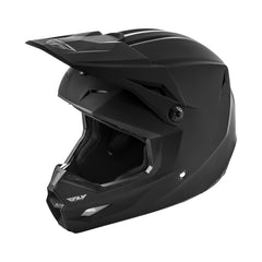 Fly 2019 Elite Solid Motocross Helmet - Matte Black