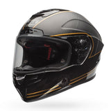 Bell 2017 Race Star Full Face Motorcycle Helmet - Check Matte Black/Gold - Bell -  - MSG BIKE GEAR - 2