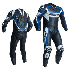RST 2054 TracTech Evo R CE Approved Leather Suit - Blue