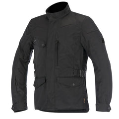Alpinestars Duval Drystar Waterproof Textile Motorcycle Jacket - Black - Alpinestars -  - MSG BIKE GEAR - 1