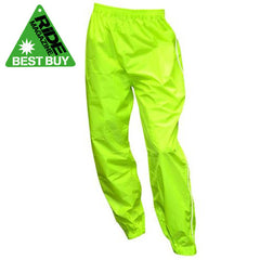 Oxford Rainseal Waterproof Motorcycle Over Trousers Fluro - SALE - Oxford -  - MSG BIKE GEAR - 1