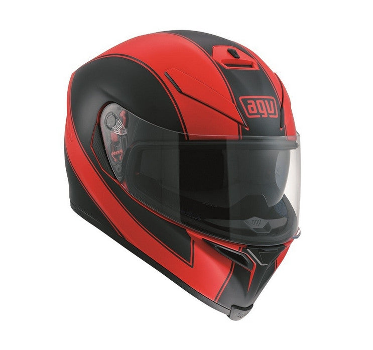 AGV K5-S DVS Sports/Touring Full Face Motorcycle Helmet - Enlace Red/Black - AGV -  - MSG BIKE GEAR