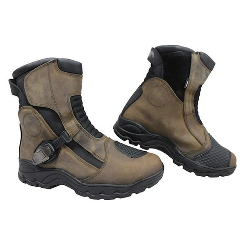 ARMR Taka Waterproof Leather Adventure Boots - Brown