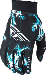 Fly Racing 2019 Adult Pro Lite MX Off Road Gloves - Paradise Teal/Black