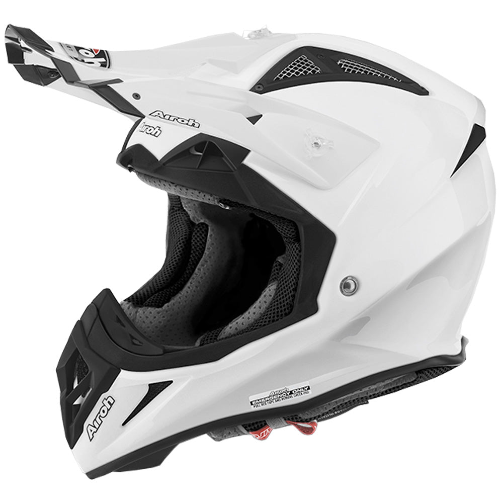 Airoh Aviator 2.2 MX Helmet - Plain Colour White