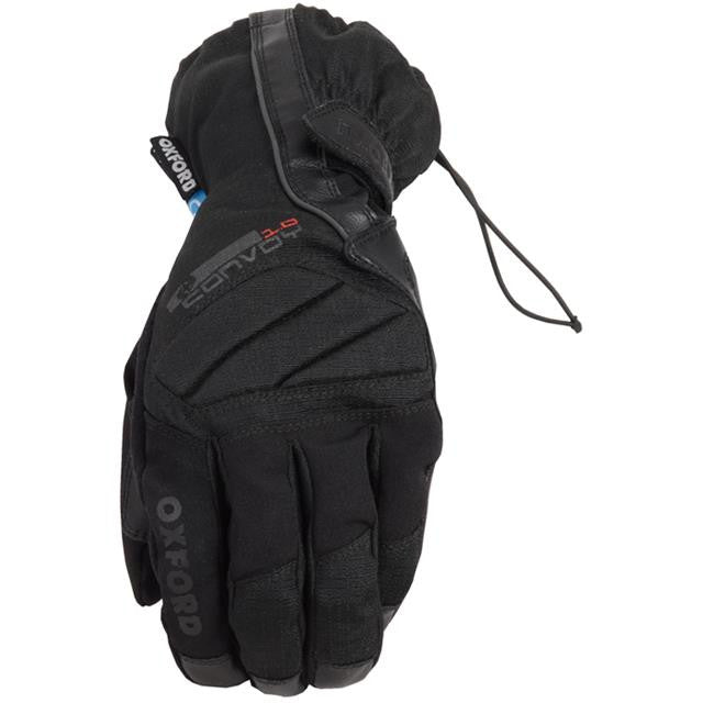 Oxford Convoy 1.0 Waterproof Motorcycle Glove Black - Oxford -  - MSG BIKE GEAR