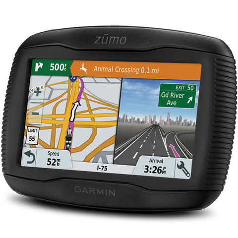 Garmin Zumo 345LM Sat Nav with FREE BT Start Intercom