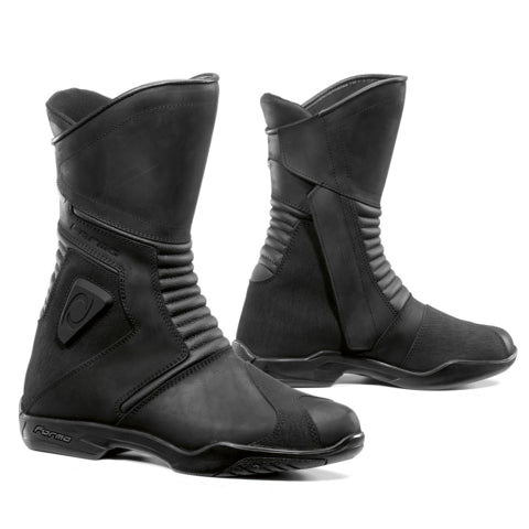 Forma Voyage Waterproof Leather Touring Motorbike Motorcycle Boots Black - FORMA -  - MSG BIKE GEAR