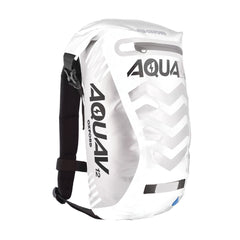 Oxford Aqua V 12 Visible Waterproof Cycling Motorcycle BackPack 12 Litres White - Oxford -  - MSG BIKE GEAR