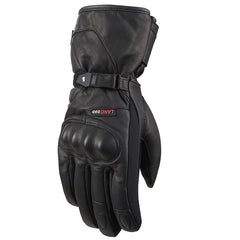 Furygan Land D3O Evo Mens Waterproof Motorcycle Gloves -  Black - Furygan -  - MSG BIKE GEAR - 1