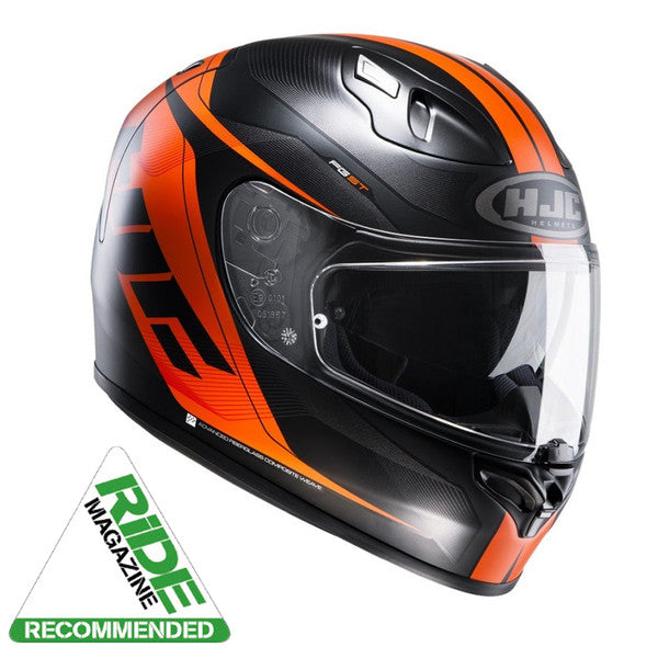 HJC FG-ST Inner Sun Visor Full Face Motorcycle Helmet - Crono MC7SF Orange - HJC -  - MSG BIKE GEAR - 1
