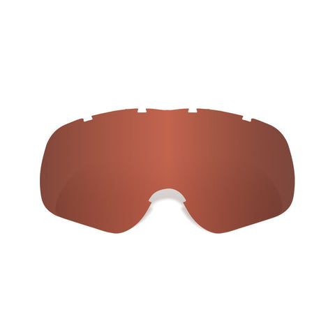 Oxford Replacement Red Tint Tear Off Lens For Assalt Pro Motocross MX Goggles - Oxford -  - MSG BIKE GEAR