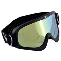 Oxford Fury Adult Motocross MX Enduro ATV Goggles Matt Black - Clear Lens - Oxford -  - MSG BIKE GEAR