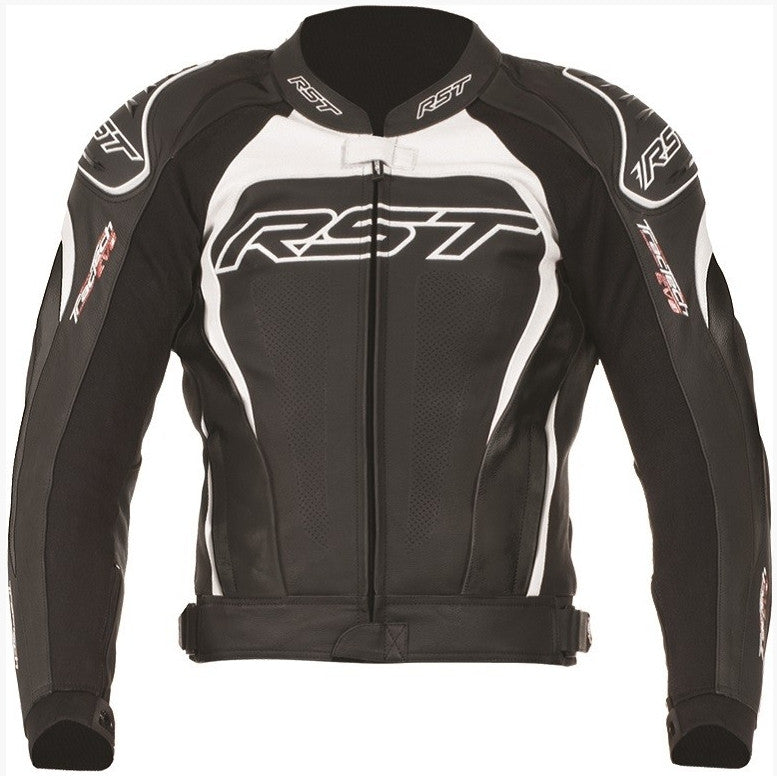 RST TRACTECH EVO II / 2 1425 LEATHER MOTORCYCLE BIKE JACKET WHITE - RST -  - MSG BIKE GEAR