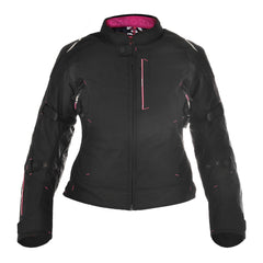 Oxford Girona 1.0 Ladies Waterproof Textile Jacket - Tech Pink