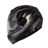 Spada SP16 Full Face Motorcycle Helmet ACU - Voltor Matt Black/Silver/Anth - Spada -  - MSG BIKE GEAR - 4