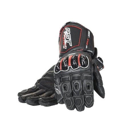RST TRACTECH EVO RACE 1317 KANGAROO LEATHER RACE MOTORCYCLE GLOVES BLACK - RST -  - MSG BIKE GEAR