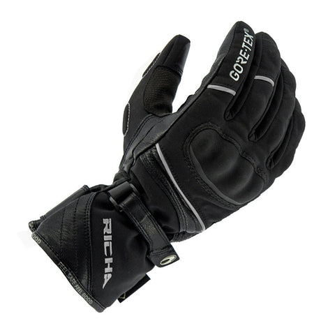 Richa Diana GTX Leather/Textile Ladies Gloves - Black