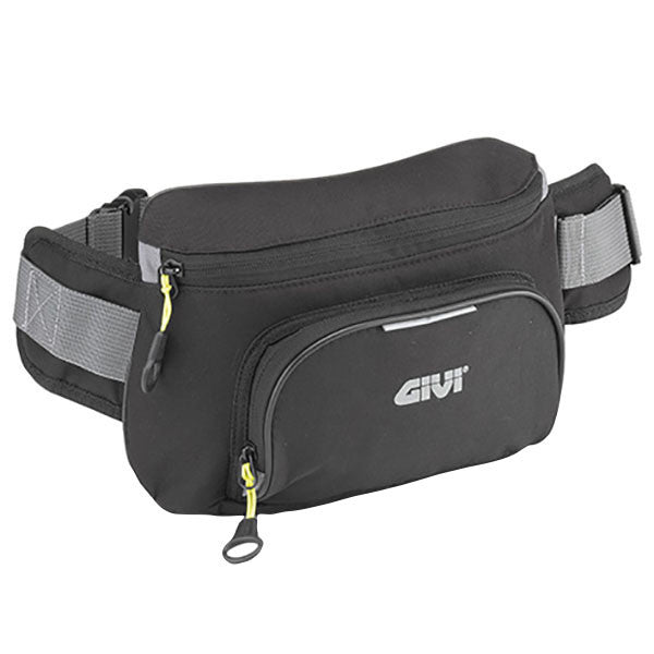 Givi EA108B Easy T-Range Motorcycle Bumb Bag Waist Bag - One Size Fits Most