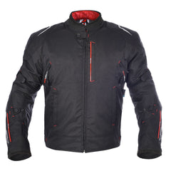 Oxford Toledo 1.0 Men's Waterproof Short Motorcycle Jacket - TechBlack - Oxford -  - MSG BIKE GEAR - 1