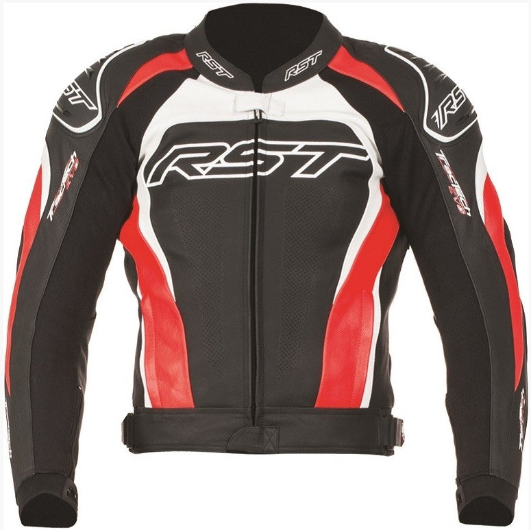 RST TRACTECH EVO II / 2 1425 LEATHER MOTORCYCLE BIKE JACKET RED - RST -  - MSG BIKE GEAR