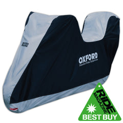 Oxford 2016 Aquatex Scooter Motorcycle With Top Box Waterproof Cover - Oxford -  - MSG BIKE GEAR - 1