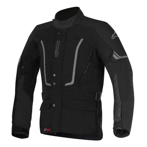 Alpinestars Vence Drystar Waterproof Motorbike Motorcycle Jacket - Black - Alpinestars -  - MSG BIKE GEAR - 1
