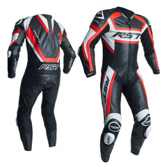 RST 2054 TracTech Evo R CE Approved Leather Suit - Red