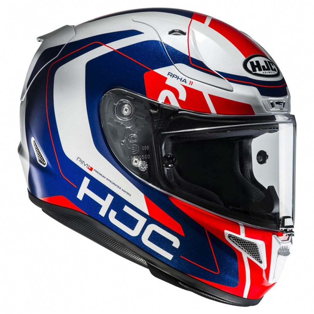 HJC RPHA 11 'Chakri' Full Face Helmet - Red / White / Blue