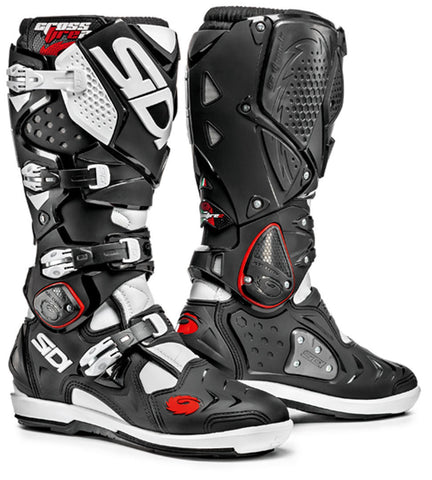Sidi Crossfire 2 SRS Enduro Motocross Off Road Boots - Black / White - Sidi -  - MSG BIKE GEAR - 1