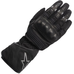 AlpineStars Vega DryStar Waterproof Touring Motorcycle Gloves - Black - Alpinestars -  - MSG BIKE GEAR - 1