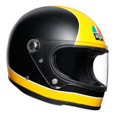 AGV X3000 Retro Full Face Helmet - Black / Yellow