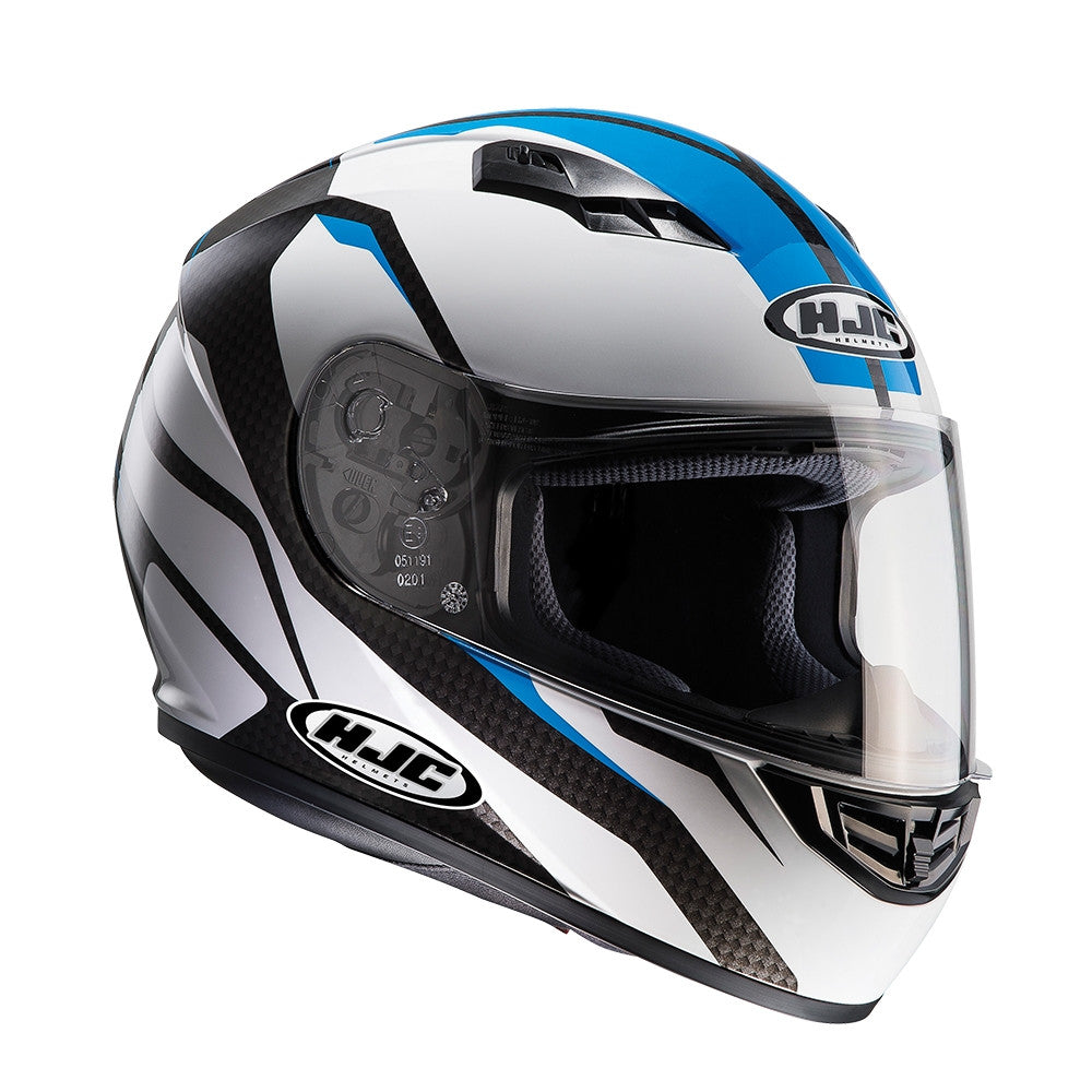 HJC CS-15 Full Face Helmet - Sebka Blue