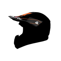 Airoh Switch Replacement MX Helmet Peak - Spacer Orange