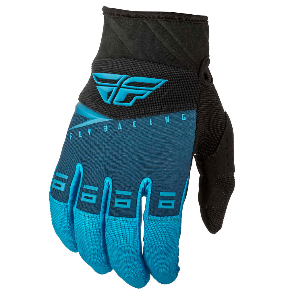 Fly Racing F-16 Adult MX Motocross Off Road Gloves -  Blue/Black S