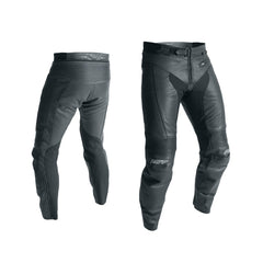 RST 2070 R-18 CE Mens Leather Armoured Motorcycle Touring Jeans - Black